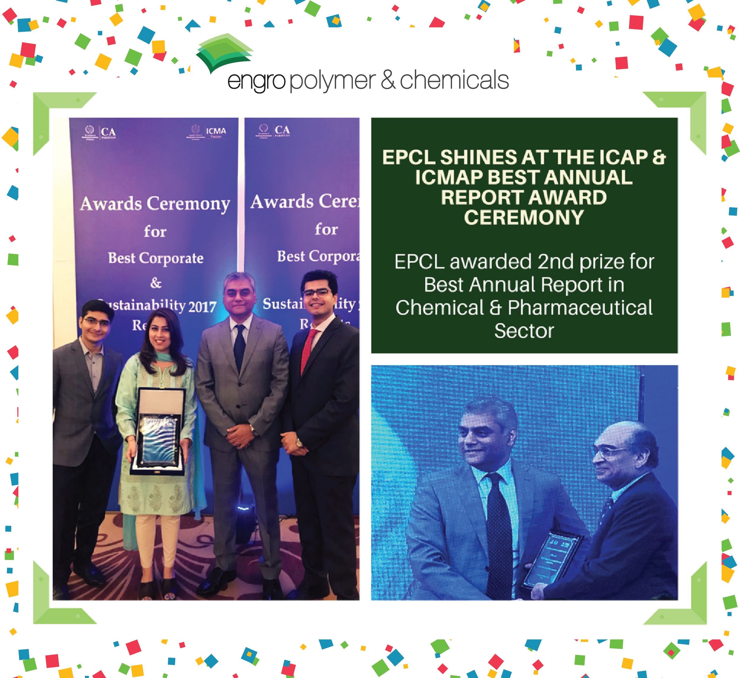 EPCL shines at the ICAP & ICMAP Best Annual Report Award Ceremony