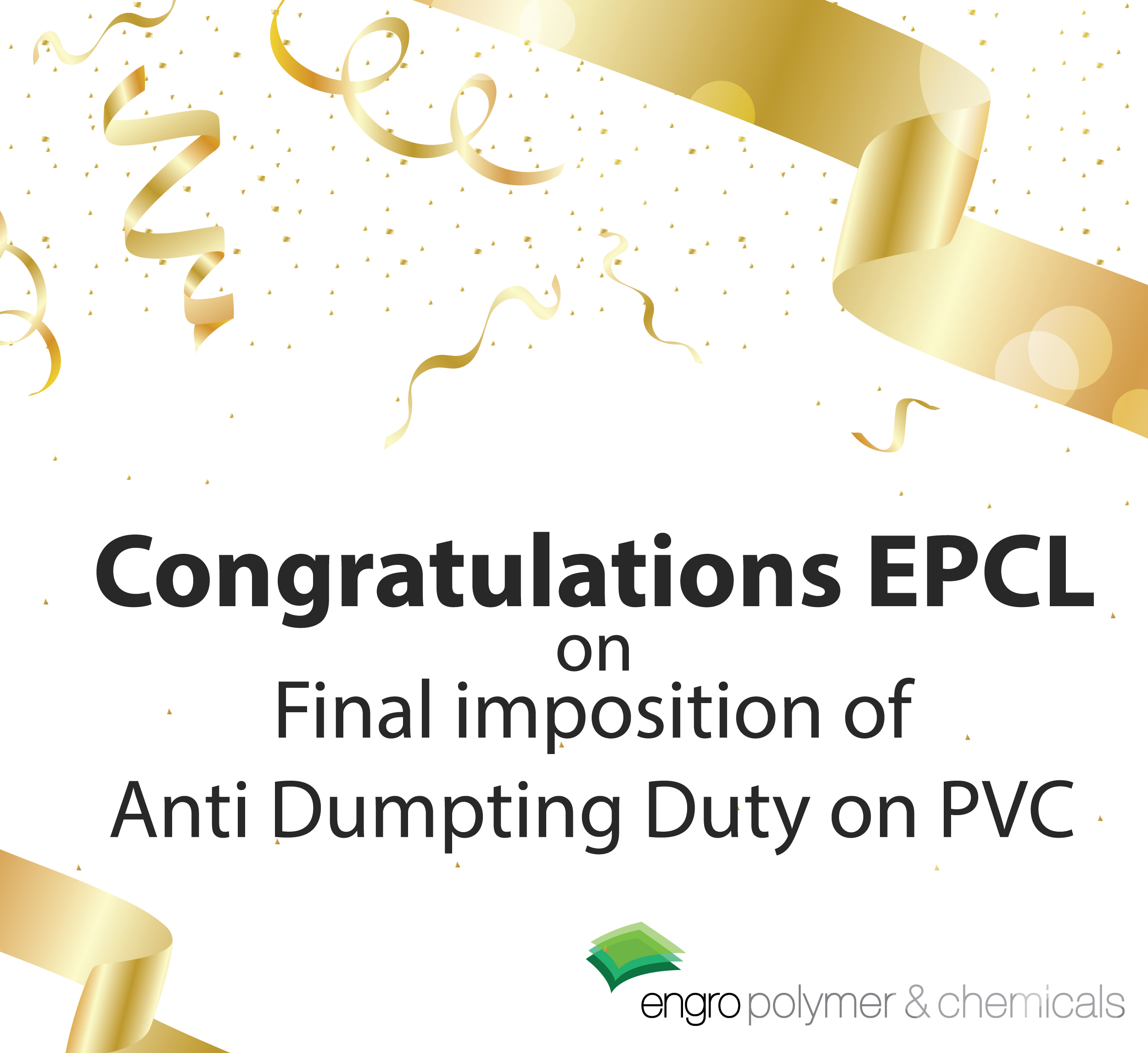 Final Imposition of Anti Dumping Duty on PVC